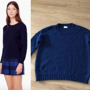 Madewell Wallace Crewneck Soft-Stitch Sweater
